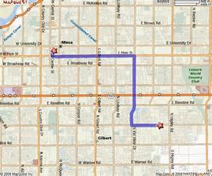 map of gilbert arizona workshops archive