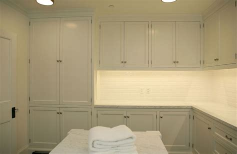 Laundry Room White Cabinets White Laundry Room Cabinets Transitional Laundry Room Giannetti Home
