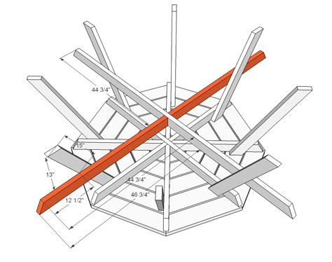 Wooden Free Eight Sided Octagon Picnic Table Plans Pdf Plans Octagon Picnic Table Plans Pdf