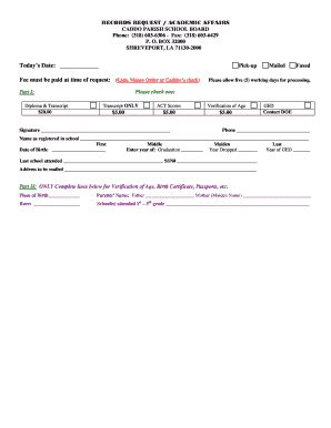 What Is A Records Request School Records Request Form Fill Printable
