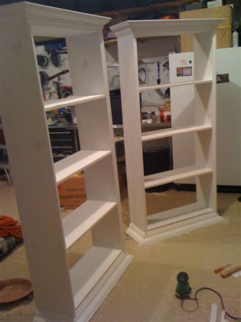 how to make built in bookshelves diy built in bookcases build it stain it paint it
