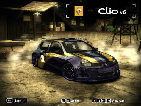 renault clio v6 nfs carbon renault clio v6 by naburu need for speed most wanted