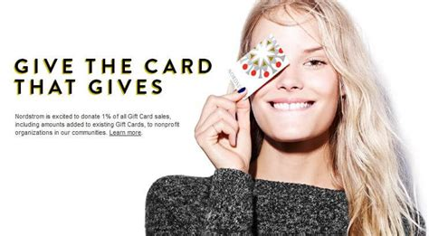 Nordstrom Gift Card Value Lookup - complete list of charity gift cards that give back gcg
