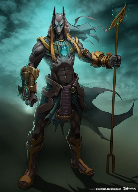 anubis 2 by el grimlock on deviantart myths legends and
