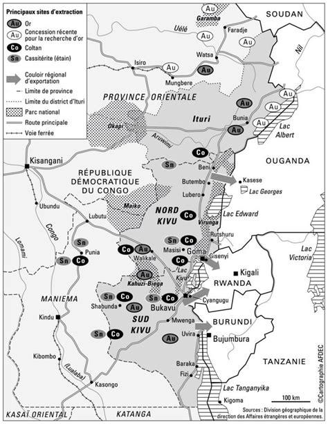 Ressources minérales, armes et violences dans les Kivus