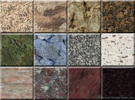 granite countertop colors gallery kitchen design ideas