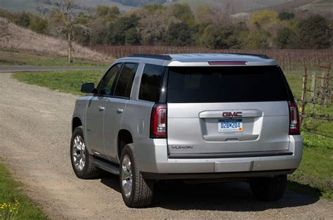 gmc yukon back 2015 gmc yukon reviews and rating motor trend