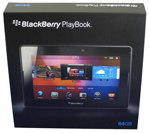 blackberry playbook new in box 64gb blackberry 7 quot playbook tablet wifi prd
