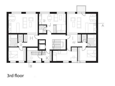 Multi Family House Plans Apartment by Residential House Plans House Ideals
