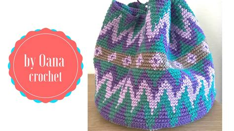 diseos mochilas wayu wayuu mochila come realizzarla 1 by oana youtube