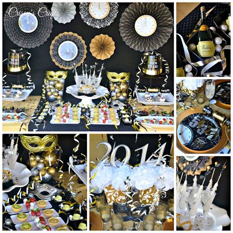 New Year S Decorations by S Crafts New Years Ideas