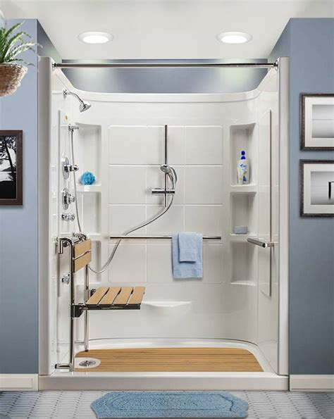 Bath Showers Designs walk in shower with designed for seniors 174 hydrotherapy