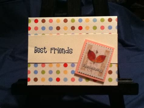 Handmade Birthday Cards For Best Friend - beautiful handmade birthday cards for friends