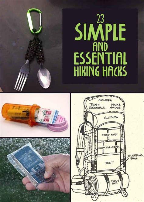 good hack ideas code 23 simple and essential hiking hacks good ideas go