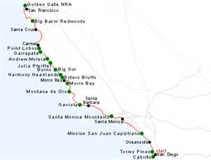 map of california coast of san francisco