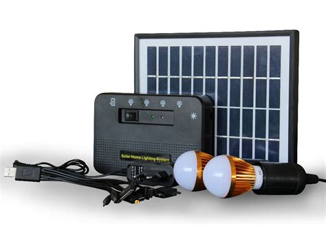 solar generator 4w home solar system and portable solar