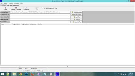 tutorial flash tool mtk sp flash tool mtk 6582