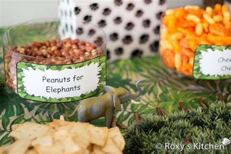 Cheap Kitchen Decorating Ideas by Safari Jungle Themed First Birthday Party Part Ii