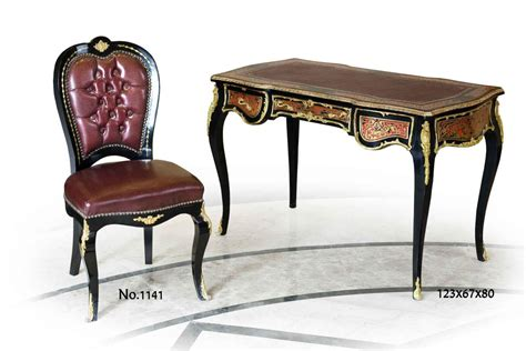 louis desk reproduction a delicate french louis xiv andres charles boulle style