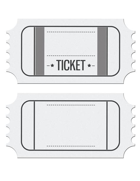 blank movie ticket invitation template brilliant ideas of