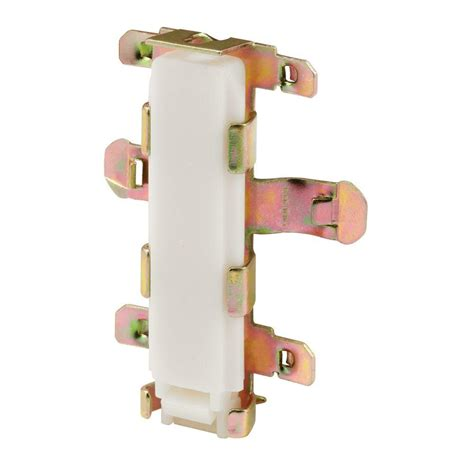 prime line floor mounted bypass door plastic bottom guides