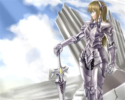 anime armor girl wallpaper armor other anime background wallpapers on desktop