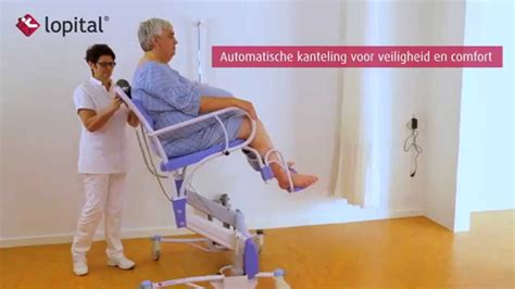 douchestoel xl lopital instructievideo elexo xxl douche toiletstoel