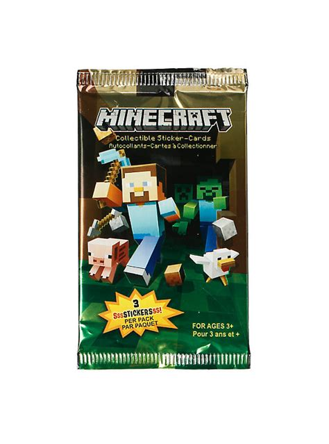 Minecraft Gift Card Price - minecraft collectible sticker cards hot topic