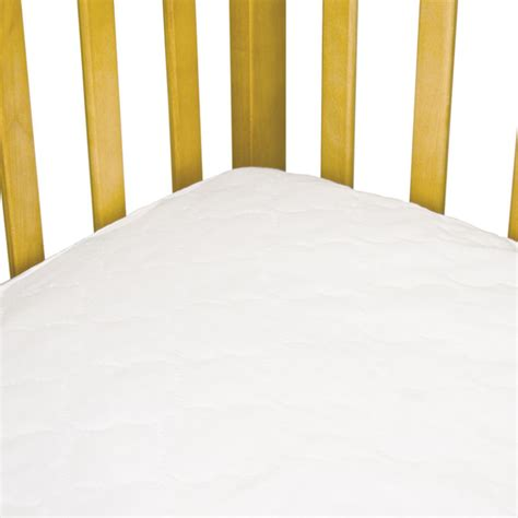 best waterproof crib mattress pad sealy securestay waterproof fitted crib mattress pad