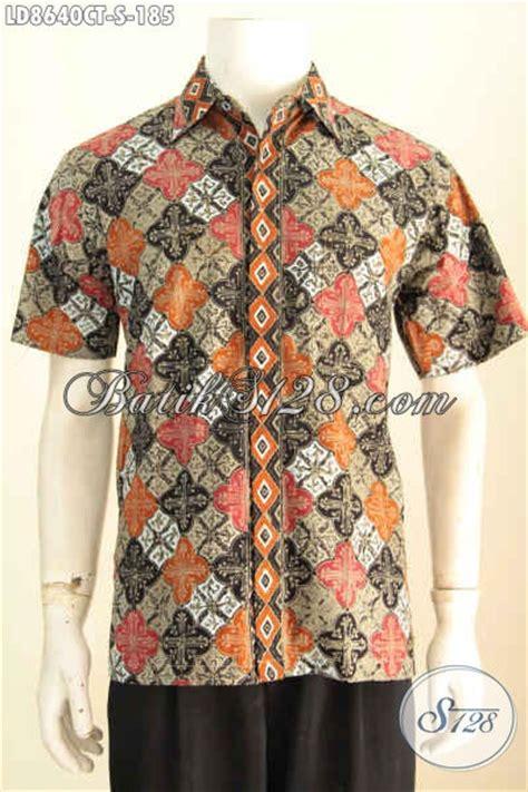 batik hem modis cap tulis baju batik motif trendy 2017