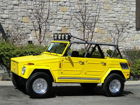 thing volkswagen this yellow rx 7 rotary powered vw thing can be yours