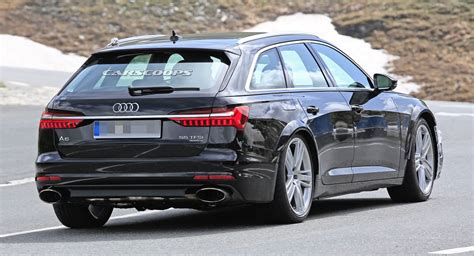 audi rs tester spotted  production front