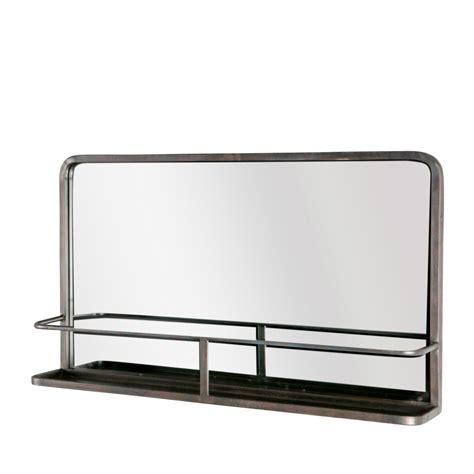 Miroir En Metal by Miroir En M 233 Tal Avec Rangement Reflection Drawer