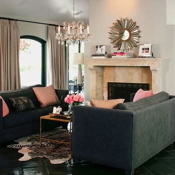 pink and grey sofa charcoal gray sofa design ideas