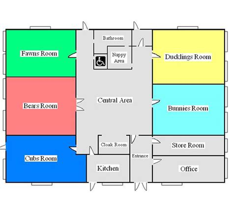 nursery floor plans deerlands day nursery
