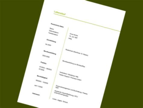 Lebenslauf Muster Lehrstelle 21 Lebenslauf Vordruck Designvorlagen