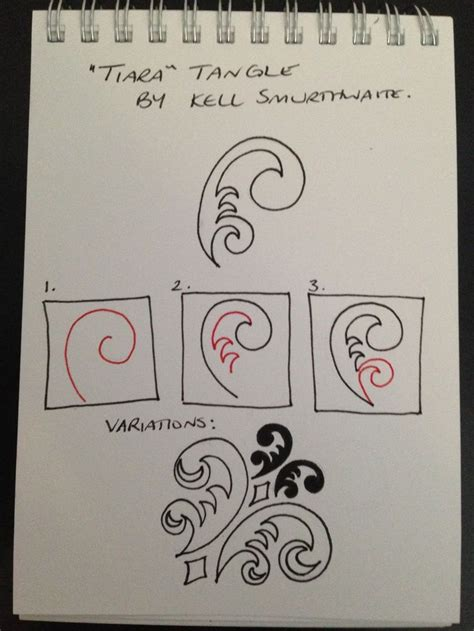 festoon zentangle pattern 107 best zen tangles and doodles images on pinterest to