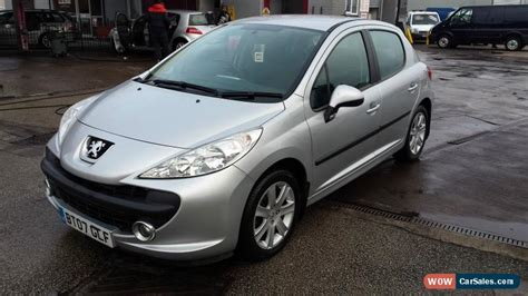 peugeot 207 for sale uk 2007 peugeot 207 sport auto for sale in united kingdom