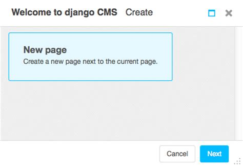 tutorial django cms create a page django cms 3 4 6 documentation