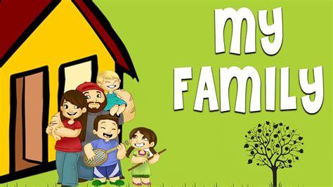 family family vocabulary learn english words  family members youtube