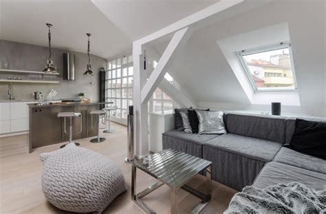 prague modern loft apartment