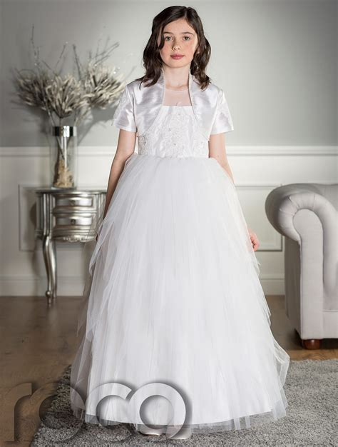 Dress Holy holy communion dress white dress communion dress