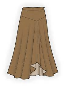 long skirt sewing pattern 4186 made to measure sewing