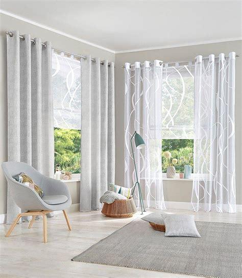 wohnzimmer gardinen mit balkontür raffrollo my home 187 cellino 171 transparent raffrollos