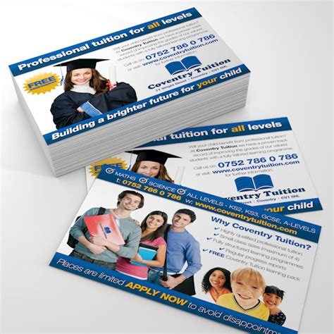 leaflet design for tuition professional tuition leaflets coventry tuition maths