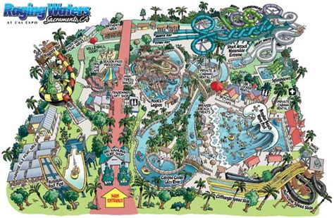 water parks in california map seventh grade lesson blood vessels the roads of