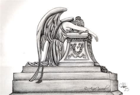 angel of grief tattoo by derdygirl on deviantart angel of grief by anacorreal on deviantart