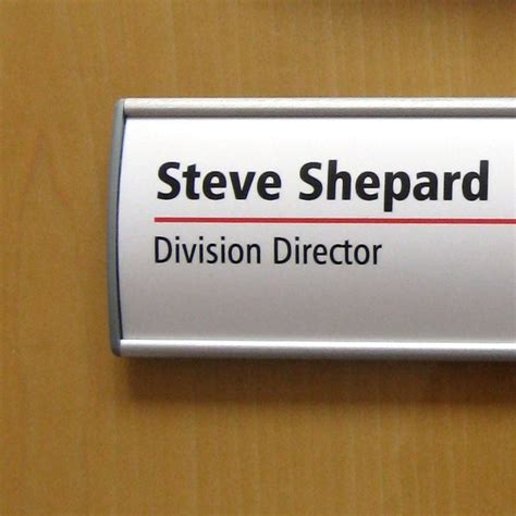 Office Name Plates wall mount name plate office door name plate holder