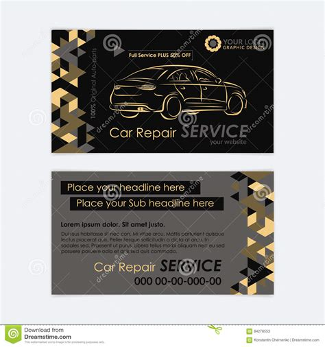 transport business cards templates free automotive service business card template car diagnostics