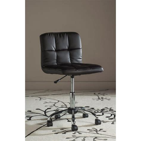 safavieh belinda desk chair safavieh brunner brown faux leather office chair fox8510b